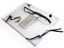 Laptop tray: Loosen the straps