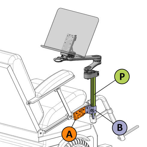 Mounting diagram