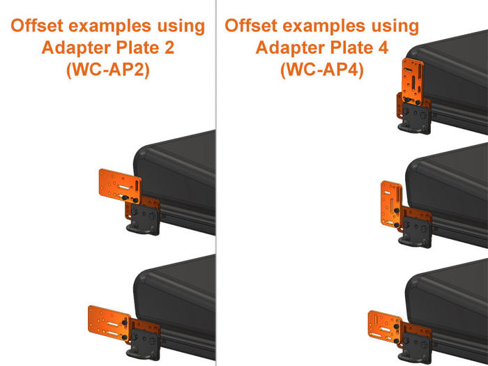 Adapter Plates as Offsets