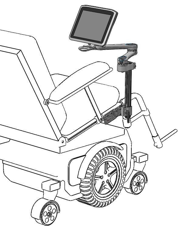 Mounted seat